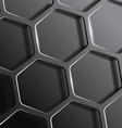 background consisting of a honeycomb vector image vector image