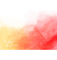 colorful watercolor texture background vector image