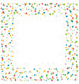 confetti celebration background with space for vector image