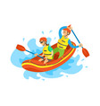 extreme tourism rubber boat rafting sport