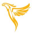phoenix sport mascot vector image vector image