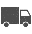 Shipment Van Icon Rubber Stamp vector image vector image