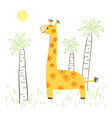 girafe vector image