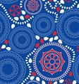 Seamless folk pattern vector image
