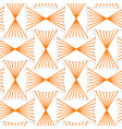 3D orange striped pin will rectangles vector image vector image