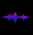 abstract background sound waves for equalizer vector image vector image