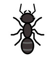 ant logo symbol icon sign vector image