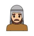 arab man cartoon vector image vector image
