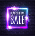 black friday shopping web banner vector image