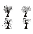 black season tree vector image