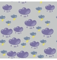 Cartoon flash clouds seamless pattern 633 vector image vector image