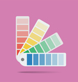 Color swatch vector image vector image
