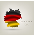 flag of Germany as a country vector image vector image