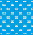 stack of money pattern seamless blue vector image vector image