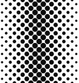 Abstract black white octagon pattern background vector image vector image