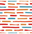 abstract seamless pattern with red orange and vector image