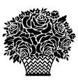 bouquet vector image vector image