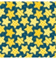 Children seamless pattern with stars vector image