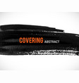 covering-abstract vector image vector image