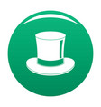 magic cylinder icon green vector image vector image