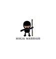 ninja boy cartoon vector image vector image