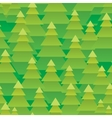 Abstract Christmas trees forest seamless pattern vector image vector image