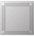 gray frame vector image vector image