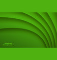 green wavy background business card pattern vector image vector image