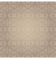 Light vintage seamless pattern vector image vector image