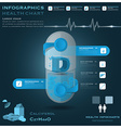 Vitamin D Pill Capsule Health And Medical vector image vector image