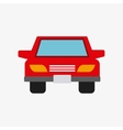 auto car vehicle isolated icon vector image