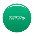 compartment train icon green