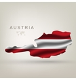 flag of Austria as the country vector image