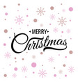 marry christmas vector image