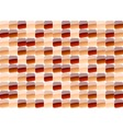red mosaic vector image