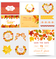 Scrapbook Design Elements - Autumn Leaves Theme