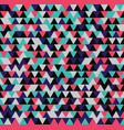 seamless triangle pattern background geometric vector image vector image