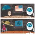 Space Scenes vector image