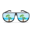 Sunglasess vector image