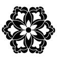 Antique ottoman turkish design five vector image vector image
