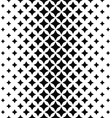 Black white abstract polygon pattern background vector image vector image