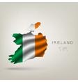 flag ireland as a country vector image