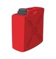 Fuel container jerrycan cartoon icon vector image vector image