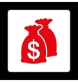 Funds Icon vector image vector image