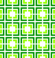 green tile seamless pattern vector image