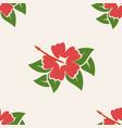 hawaiian aloha shirt seamless background pattern vector image