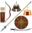 nomadic knight armor icons set 4
