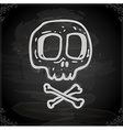 Hand Drawn Skull and Bones