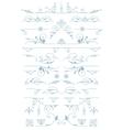 Premium accents Vintage Ornaments Design vector image vector image