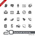 Social media basics series vector | Price: 1 Credit (USD $1)